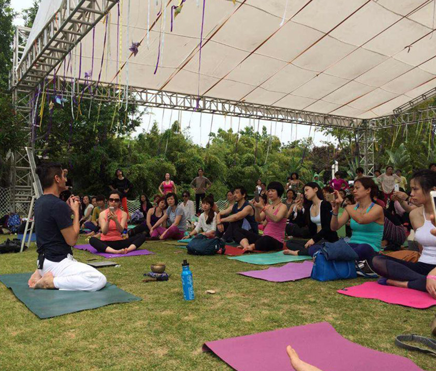 Yonian Yoga Festival 2015, Xiamen | Yin Mindfulness Immersion